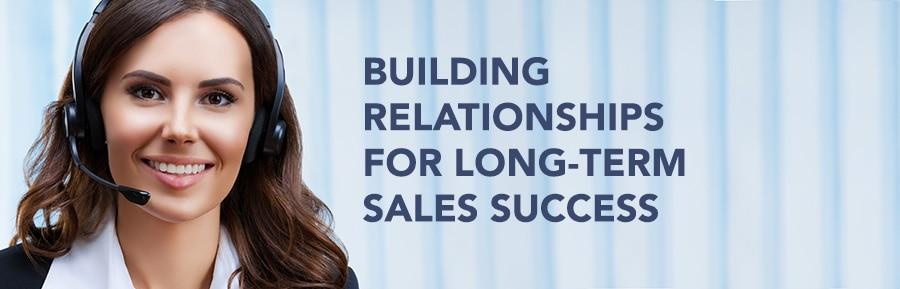 building sales relationships